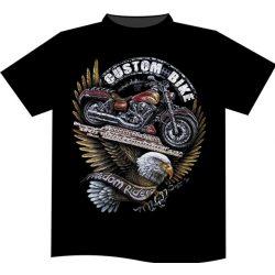 Custom Bike póló