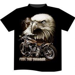 Feel The Thunder Eagle póló