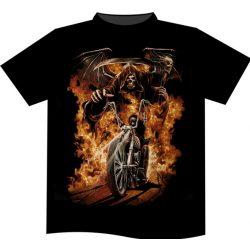Burning Rider póló