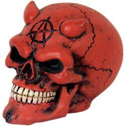 Sebességváltó gomb (piros ördögfej)