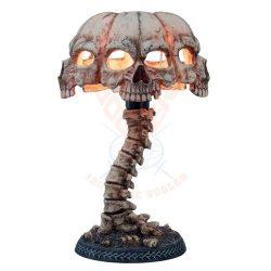 Koponyás asztali lámpa