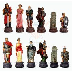 Római kori sakkfigurás készlet