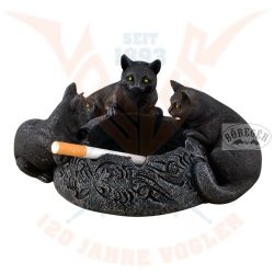 Hamutartó 3 fekete macskával