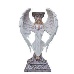 Imádkozó angyal gyertyatartó