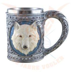 Kelta korsó fehér farkas