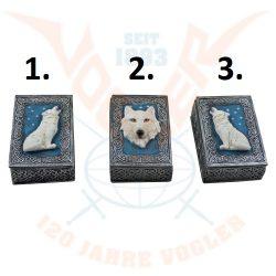 Fehér farkasos doboz/db