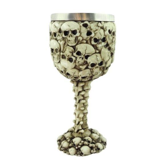 Koponyás pohár