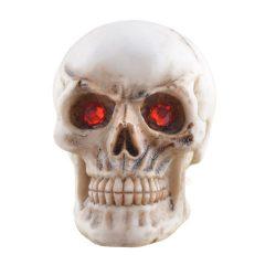 Piros szemű koponya