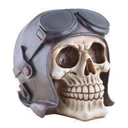 Pilóta sapkás koponya