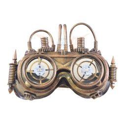 Steampunk-Robot szemüveg  led-es