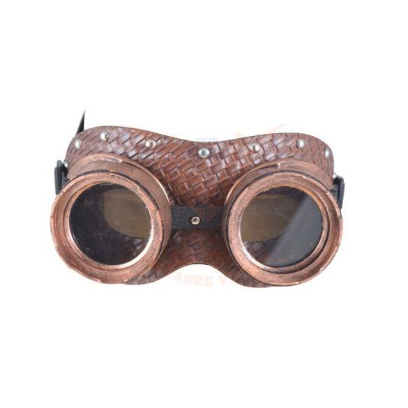 Steampunk Pilóta szemüveg