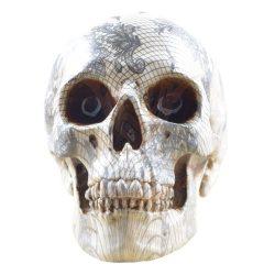 Csipke mintás koponya