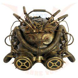 """Steampunk maszk """"Dark Cyber Mind"""""""
