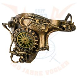 "Steampunk maszk ""Golden Wheel"""