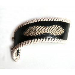 Kígyóbőr csuklópánt, karkötő