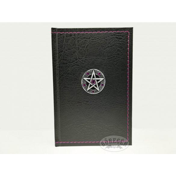 Kis műbőr napló (Pentagram)