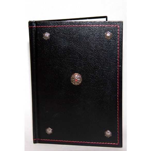 Viktoriánus műbőr napló
