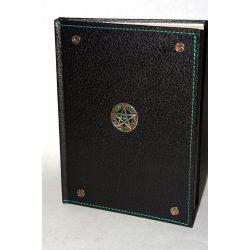 Pentagram műbőr napló