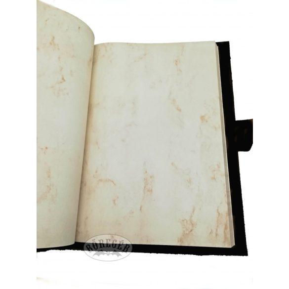 Bőr Boszorkány napló (Grimoire)