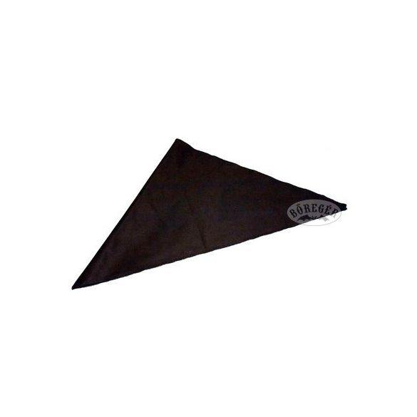 Fekete vászon kendő