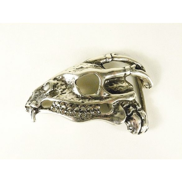 Dragon skull belt buckle