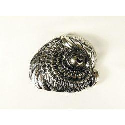Owl head belt buckle