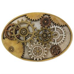 Multi Gear SteamPunk buckle