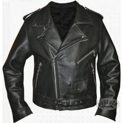 Bőr motoros dzseki