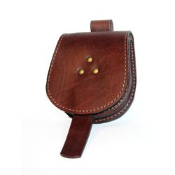 Leather sabretache