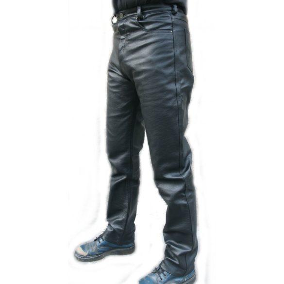 Sima fekete bőrnadrág - Bőregér c34983b600
