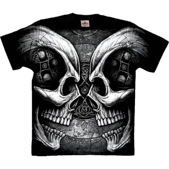 bf79c3f7b7 Facing Skulls póló - Bőregér