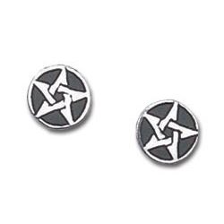 Pentagram fülbevaló (pár)