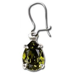 Absinth kristály fülbevaló (db)