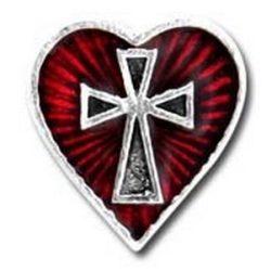 Szent szív fülbevaló (db)