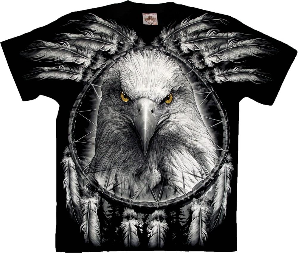 dc9aaaa7c3 Eagle and Dreamcatcher póló - Bőregér