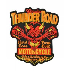 Thunder Road felvarró