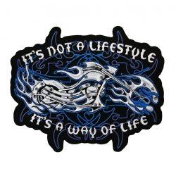 It's Not a Lifestyle felvarró