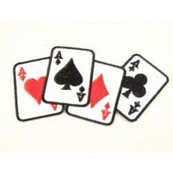 Ász póker felvarró