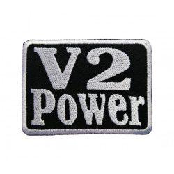V2 Power felvarró
