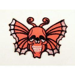 Koponyás pillangó felvarró