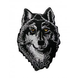 Farkasfej felvarró /WOLF/