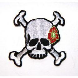 Csontos koponya felvarró