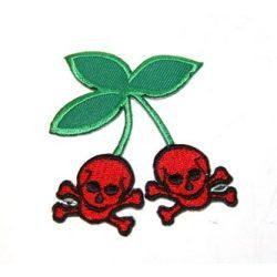 Rockabilly cseresznye felvarró