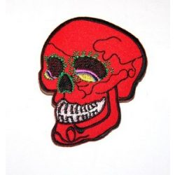 Candy skull patch