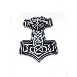 Thor kalapács/Mjollnir felvarró
