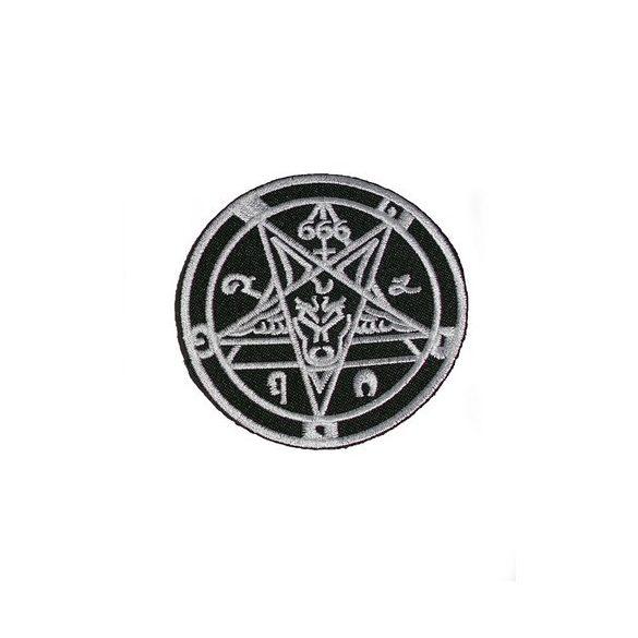 Pentagramma felvarró