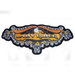 Lady Rider patch