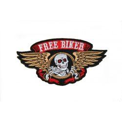 Free Biker felvarró