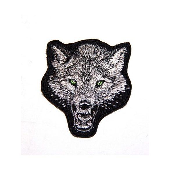 Farkasfej felvarró