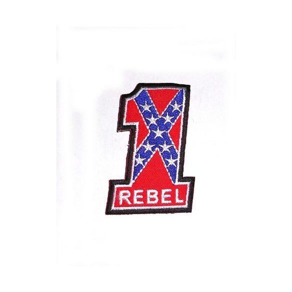 Déli Zászló Rebel felvarró